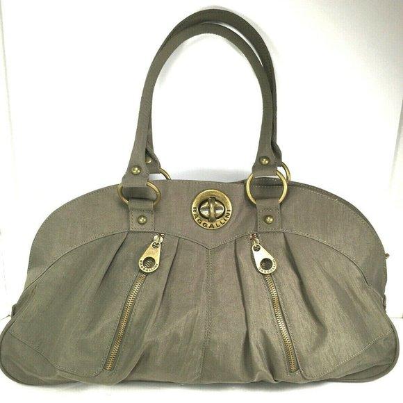 Baggallini Handbags - Baggallini XL Olive Green Carryall Satchel Tote